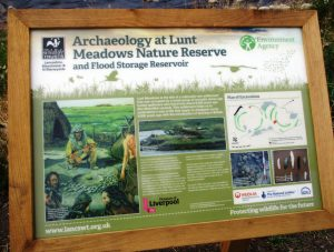 Lunt Meadows Intrepretation Board