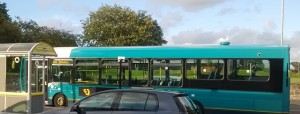 Arriva bus at The Meadows in Maghull