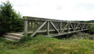 Showicks Bridge is on the eastern boundary of the site and it crosses the River Alt