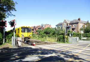 At Crescent Road Level Crossing 2