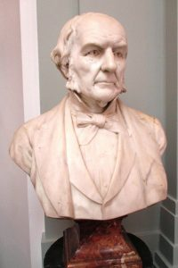 Marble bust of Gladstone