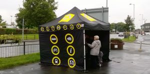 The Merseytravel bus routes consultation event recently held in Maghull.