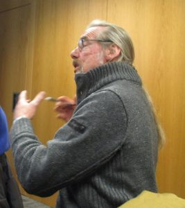 Hardly young (sorry Fred) but redoubtable environmental campaigner and Southport Lib Dem councillor Fed Weavers was there speaking passionately about all things green at the meeting.