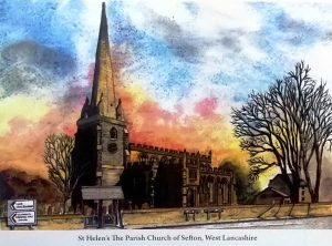 sefton-church-painting-by-harold-s-scott