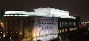 This was the view from from Central Library of St. Georges Hall.