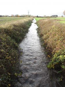 Sudell Brook - On the left Lydiate - on the right Aughton